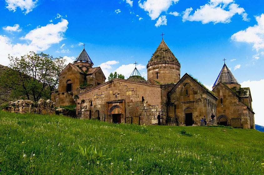 Goshavank Monastery. Discover Armenia One day trip to Sevanavank-Haghartsin