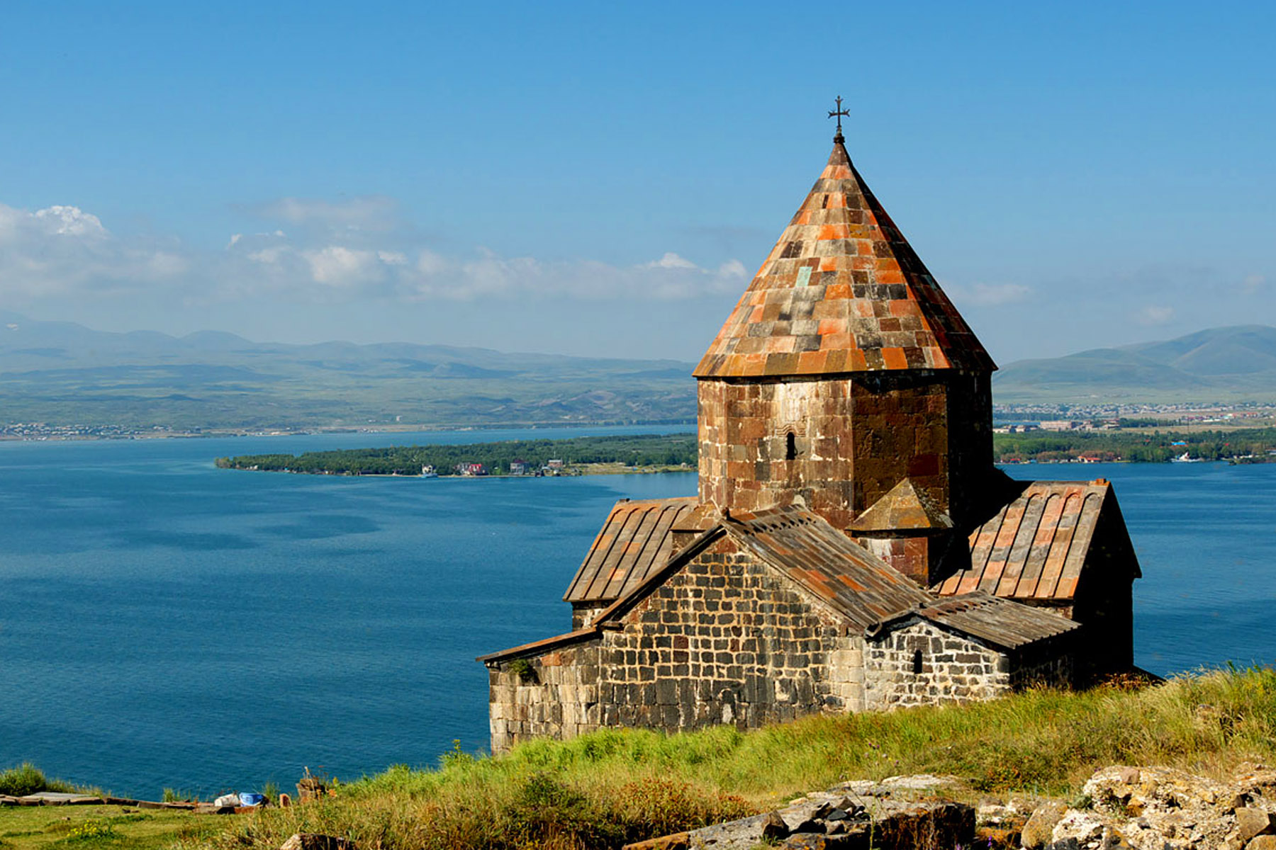 Lake Sevan. hiking in Dilijan biking tour in Armenia solo travel to Armenia trip to Armenia Sevanavank