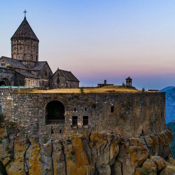 family trip to Armenia Tatev