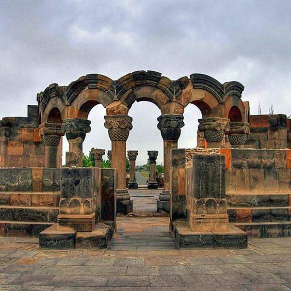 weekend tour in Armenia Biking Tour to Etchmiadzin (Hard 2*) - Feel Armenia Zvartnots