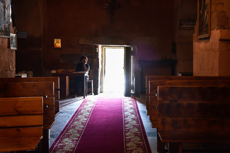 Different Way of Life in Martiros Church - Feel Armenia