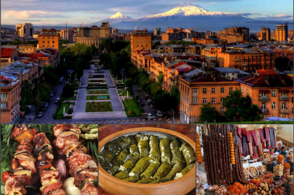 Food and Wine Tour in Armenia