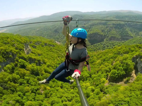 Adventure Holiday in Armenia. Zip-Line
