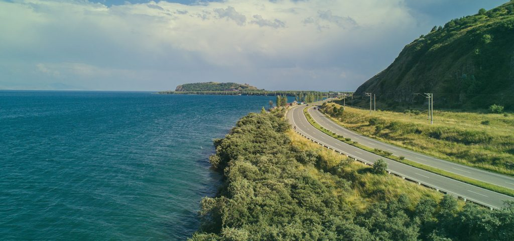 Lake Sevan. 10 Most Beautiful Landscapes In Armenia - Feel Armenia biking tour in Armenia hiking tour in Armenia