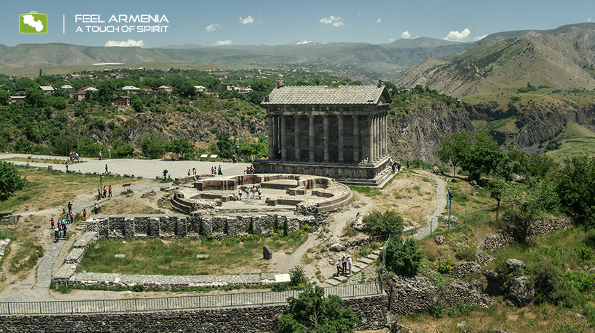 off the beaten path Armenia Garni Temple