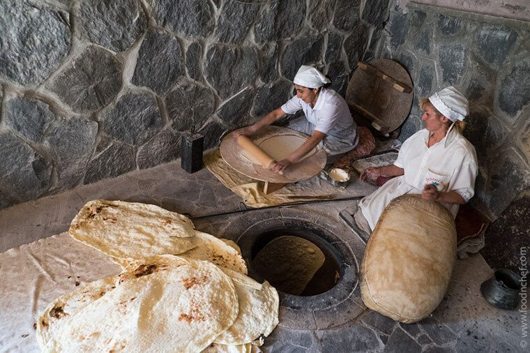 Gastronomic Tour to Armenia: solo travel to Armenia off the beaten path Armenia Lavash Baking Master Class. Adventure Holiday in Armenia Food and Wine Tour in Armenia