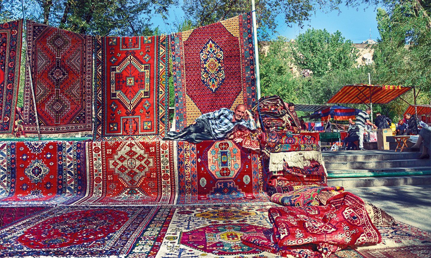 one-day tours in Armenia trip to Armenia carpets in yerevan vernissage compressor