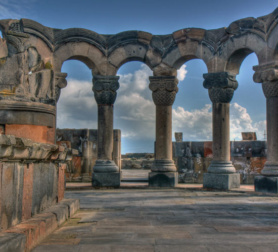 Zvartnots Cathedral: tailor-made tour to armenia: one-day tours in Armenia