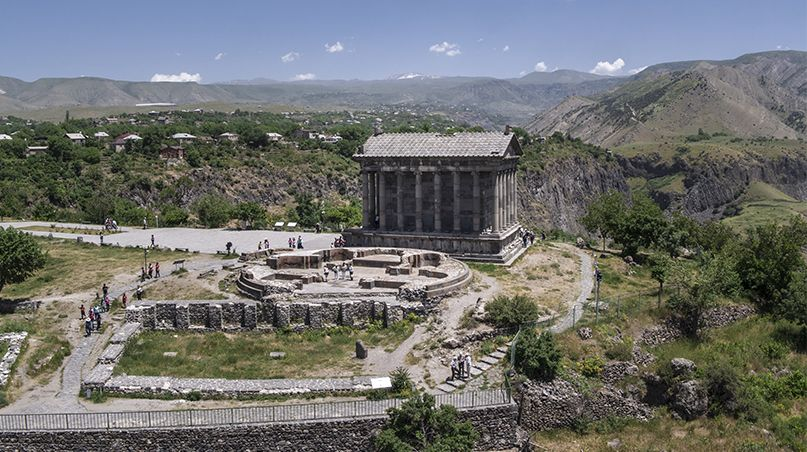 Temple of Garni: Gastronomic Tour to Armenia